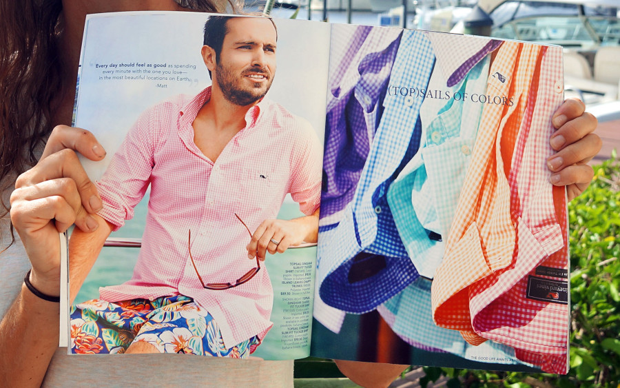 Vineyard Vines closeup page 2